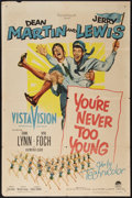 """Movie Posters:Comedy, You're Never Too Young (Paramount, 1955). One Sheet (27"""" X 41""""). Comedy.. ..."""