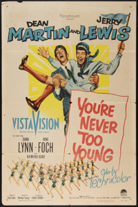 """You're Never Too Young (Paramount, 1955). One Sheet (27"""" X 41""""). Comedy"""