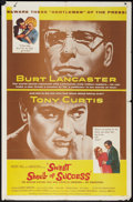 """Movie Posters:Drama, Sweet Smell of Success (United Artists, 1957). One Sheet (27"""" X 41""""). Drama.. ..."""