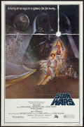 "Movie Posters:Science Fiction, Star Wars (20th Century Fox, 1977). One Sheet (27"" X 41"") FlatFolded Style A. Science Fiction.. ..."