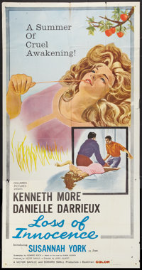 "Loss of Innocence (Columbia, 1961). Three Sheet (41"" X 81""). Romance"
