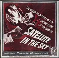 """Satellite In The Sky (Warner Brothers, 1956). Six Sheet (81"""" X 81""""). Science Fiction"""