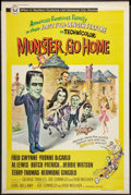"Movie Posters:Comedy, Munster, Go Home (Universal, 1966). Poster (40"" X 60""). Comedy.. ..."
