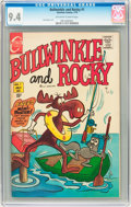 Bronze Age (1970-1979):Cartoon Character, Bullwinkle #1 (Charlton, 1970) CGC NM 9.4 Off-white to whitepages....