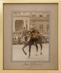 "Autographs:Military Figures, John J. ""Blackjack"" Pershing: Autographed Portrait...."