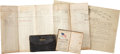 Autographs:Military Figures, Union Soldier's Diary With Entries up to Nine Days before His Death in Baton Rouge on June 1, 1863. ... (Total: 3 Items)