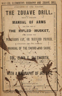 Very Rare Book: The Zouave Drill  Being A Complete Manual Of