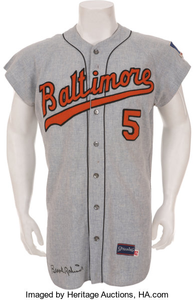 outlet store 6664f 7088b 1969 Brooks Robinson Game Worn Baltimore Orioles Jersey ...