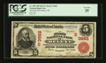 National Bank Notes:Arkansas, Helena, AR - $5 1902 Red Seal Fr. 589 The First NB Ch. # (S)3662. ...