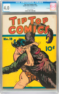 Platinum Age (1897-1937):Miscellaneous, Tip Top Comics #18 Lost Valley pedigree (United FeaturesSyndicate/Standard, 1937) CGC VG 4.0 Off-white to white pages....