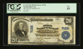 National Bank Notes:Wisconsin, Bayfield, WI - $20 1902 Plain Back Fr. 650 The First NB Ch. # 7158. ...