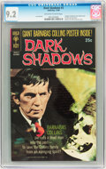 Silver Age (1956-1969):Horror, Dark Shadows #3 (Gold Key, 1969) CGC NM- 9.2 Off-white to whitepages....
