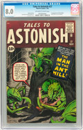 Silver Age (1956-1969):Superhero, Tales to Astonish #27 (Marvel, 1962) CGC VF 8.0 Off-white to whitepages....