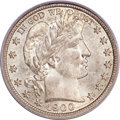 Barber Half Dollars, 1900-S 50C MS67+ PCGS Secure. CAC....