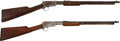 """Military & Patriotic:WWI, Pair of Winchester Model 1906 Pump Action Rifles. Cal. .22Short-Long or Long Rifle. 20"""" Round Barrels.... (Total: 2 Items)"""