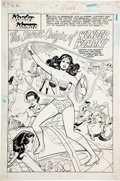 Original Comic Art:Splash Pages, Jose Delbo and Vince Colletta DC Special Series #19 Splashpage 1 Original Art (DC, 1979)....