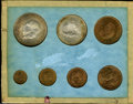 Mexico, Mexico: 1955 Mint Set,... (Total: 7 coins)
