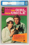 Silver Age (1956-1969):Adventure, Girl From U.N.C.L.E. #1 (Gold Key, 1967) CGC NM 9.4 Off-white to white pages....