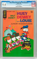 Bronze Age (1970-1979):Cartoon Character, Huey, Dewey, and Louie Junior Woodchucks #7 File Copy (Gold Key,1970) CGC NM 9.4 Off-white to white pages....