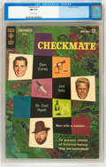Silver Age (1956-1969):Mystery, Checkmate #1 (Gold Key, 1962) CGC NM 9.4 Off-white pages....