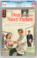 Silver Age (1956-1969):Romance, Dear Nancy Parker #1 File Copy (Gold Key, 1963) CGC NM 9.4Off-white to white pages....