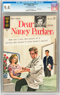 Dear Nancy Parker #1 File Copy (Gold Key, 1963) CGC NM 9.4 Off-white to white pages