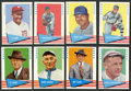 Baseball Cards:Sets, 1961 Fleer Baseball High Grade Near Set (131/154). ...