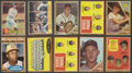 Baseball Cards:Lots, 1962 Topps Baseball Partial Set With Over 30 High Numbers (205)....