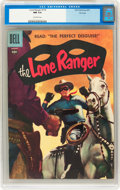Silver Age (1956-1969):Western, Lone Ranger #110 File Copy (Dell, 1957) CGC NM 9.4 Off-whitepages....