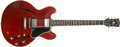 Musical Instruments:Electric Guitars, 1961 Gibson ES-335 Guitar, #26472.... (Total: 2 Items)
