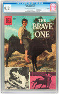 Silver Age (1956-1969):Adventure, Four Color #773 The Brave One - File Copy (Dell, 1957) CGC NM- 9.2 Off-white to white pages....