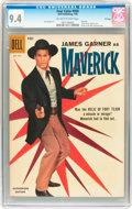 Silver Age (1956-1969):Adventure, Four Color #930 Maverick - File Copy (Dell, 1958) CGC NM 9.4 Off-white to white pages....