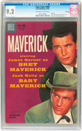 Silver Age (1956-1969):Western, Four Color #980 Maverick - File Copy (Dell, 1959) CGC NM- 9.2Off-white to white pages....