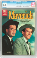 Silver Age (1956-1969):Western, Maverick #9 File Copy (Dell, 1960) CGC NM 9.4 Off-white pages....