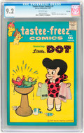 Silver Age (1956-1969):Humor, Tastee-Freez Comics #1 Little Dot - File Copy (Harvey, 1957) CGCNM- 9.2 Off-white pages....