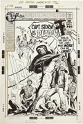 Original Comic Art:Covers, Joe Kubert Our Fighting Forces #135 Losers Cover OriginalArt (DC, 1972)....