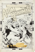 Original Comic Art:Covers, Joe Kubert Atom and Hawkman #39 Cover Original Art (DC,1968)....