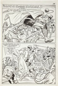 Original Comic Art:Panel Pages, Jack Kirby and Chic Stone Journey Into Mystery #110 Thorpage 10 Original Art (Marvel, 1964)....