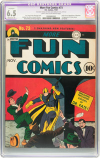 More Fun Comics #73 (DC, 1941) CGC Apparent FN+ 6.5 Moderate (P) Light tan to off-white pages