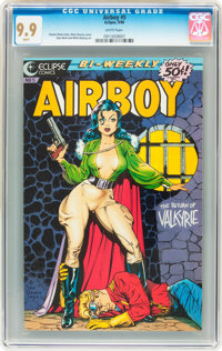 Airboy #5 (Eclipse, 1986) CGC MT 9.9 White pages