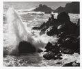 Photographs, ANSEL EASTON ADAMS (American, 1902-1984). Storm, Surf, and Rocks - Timber Cover California, circa 1960. Gelatin silver, ...