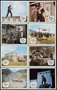 "For a Few Dollars More (Constantin-Film, 1967). Lobby Cards (24) (9.5"" X 11.75""). Western. ... (Total: 24 Item..."