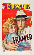 "Movie Posters:Drama, Framed (First National, 1927). One Sheet (27"" X 41"") Style A.. ..."