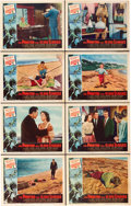 """Movie Posters:Science Fiction, The Phantom From 10,000 Leagues (American Releasing Corp., 1955).Lobby Card Set of 8 (11"""" X 14"""").. ... (Total: 8 Items)"""