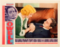 "Movie Posters:Drama, Lawyer Man (Warner Brothers, 1933). Lobby Card (11"" X 14"").. ..."