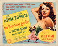 """Movie Posters:Musical, You Were Never Lovelier (Columbia, 1942). Title Lobby Card (11"""" X14"""").. ..."""