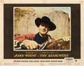 "Movie Posters:Western, The Searchers (Warner Brothers, 1956). Lobby Card (11"" X 14"").. ..."