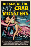 "Movie Posters:Science Fiction, Attack of the Crab Monsters (Allied Artists, 1957). One Sheet (27""X 41"").. ..."