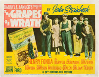 "The Grapes of Wrath (20th Century Fox, 1940). Title Lobby Card (11"" X 14"")"