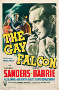 "Movie Posters:Mystery, The Gay Falcon (RKO, 1941). One Sheet (27"" X 41"").. ..."
